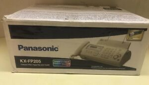 Panasonic Kx fp205 9 6kbps Thermal Transfer Plain Paper Fax copier Machine