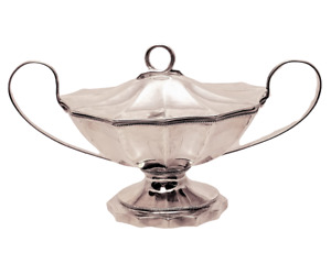 Sterling Gravy Tureen By Justis Armiger