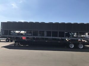 Used 400 Ton Trane Chiller On Trailer