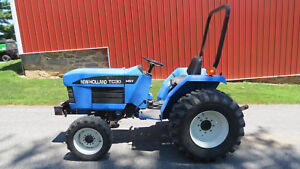 2001 New Holland Tc30 4x4 Compact Utility Tractor 30hp Diesel Hydrostatic