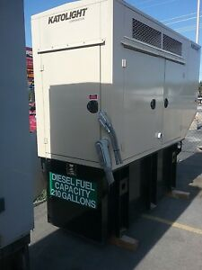 Katolight 60 Kw Diesel Enclosed Standby Generator