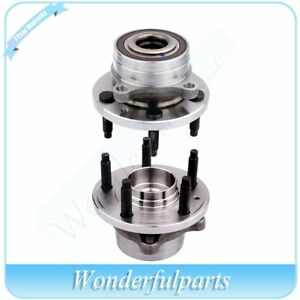 2 Front Wheel Hub And Bearing Assembly New For Ford Explorer 11 16 All Models
