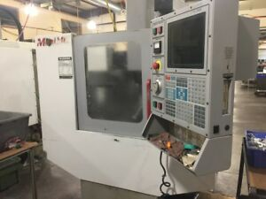 Used Haas Mini Mill Cnc Vertical Machining Center Ct40 3 5 Milling Machine 2001