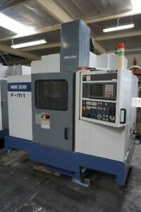 Mori Seiki F m1 Cnc Vertical Machining Center 1997 Box Ways Fanuc Control