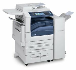Xerox Workcentre 7855 Mfp Color Copier Low Meter 75k Total Copies