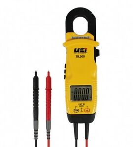 Uei Test Instruments Dl200 Clamp Meter Amp And Voltage With Pouch