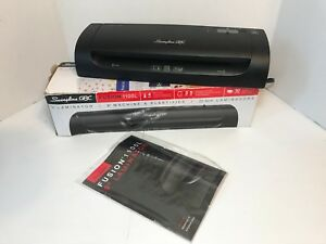 Fusion 1100l Laminator 9 Wide 5mil Maximum Document Thickness