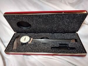 Starrett 6 Inch Dial Caliper With Box No 120a