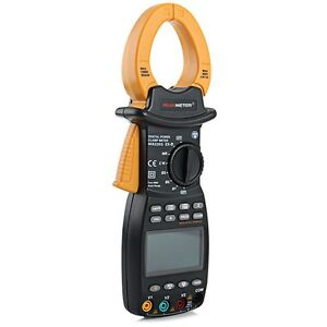 Peakmeter Ms2203 3 Phase Trms Digital Clamp Meter Power Factor Correction