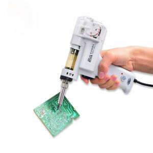 S 998p 100w Electric Vacuum Desoldering Pump Soldering Iron Sucker Gun 110v 220v