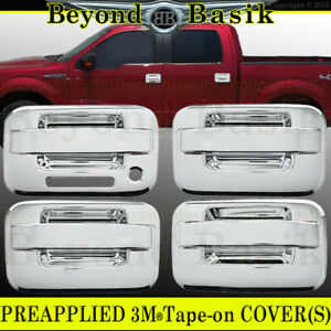 Ford F150 F 150 2004 2011 2012 2013 2014 Chrome Door Handle Covers No Psk W Kp