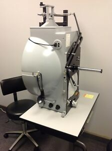 Ophthalmology haag Streit Goldmann Manual Visual Field With Two Chairs