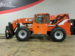 2010 Skytrak 10054 10000lb Rough Terrain Telehandler Telescopic Reach Truck