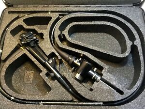 Olympus Cf 100tl Video Colonoscope W Hard Case endoscope cf100tl H7 kp