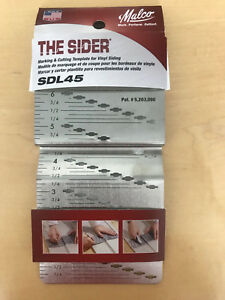 Malco Vinyl Siding Marking And Cutting Template the Sider Dutchlap 4 1 2 In