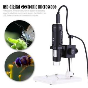 1000x 8led Usb Digital Electronic Microscope Magnifier Video Camera stand Holder