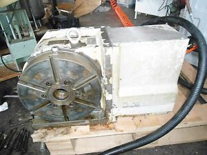 Yuasa Udx 22001 Cnc 4th Axis Rotary Table Indexer With Udnc 100 Box