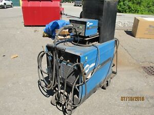 Miller Dimension 400 Dc Welding Power Source And S22 Wire Feed Mig Stick Welder