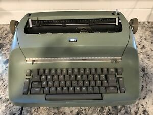 Ibm Selectric Sage Typewriter Vintage Electric Tested To Power On
