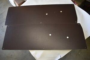 1947 1948 1949 1950 1951 1952 1953 1954 1955 Chevy Gmc Truck Black Door Panels
