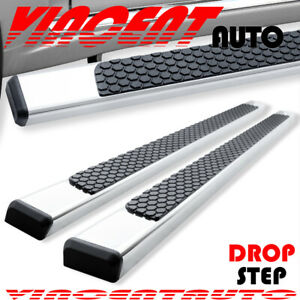 Fit 04 12 Colorado Canyon Crew Cab 4 5 Nerf Bar Running Board Side Step S S Dl