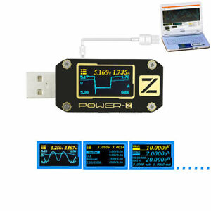 Power z Usb Pd Qc3 0 Qc2 0 Tester Voltage Current Ripple Dual Type c Meter Km001