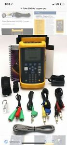 Fluke Networks 990dsl Copperpro Loop Tester With Wideband Tdr Options Enabled