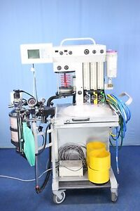 Invivo Drager Narkomed Mri 2 Magnitude Mri Anesthesia Machine With Warranty