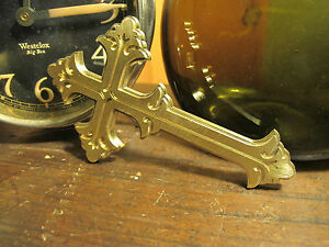 Brass Cross Bookbinding Press Stamp Embossing Die Letterpress Finishing St7