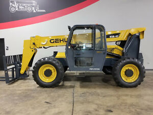 2008 Gehl Rs8 42 8000lb Pneumatic Telehandler 4x4x4 Telescopic Reach Truck