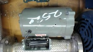 Us Electric 1 2 Hp Ac Motor 208 230 Volts 1725 Rpm 4p 56c Frame Single Phase
