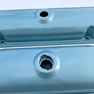 67 72 Gto Firebird Valve Covers Drippers 67 81 Pontiac 400 389 455 Blue Steel