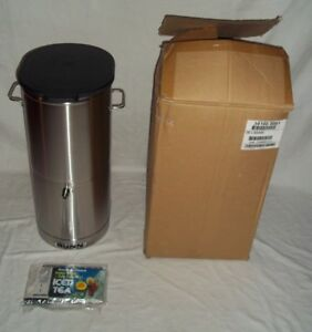 Bunn Iced Tea Dispenser 5 Gallon Reservoir Tdo 5 34100 0001