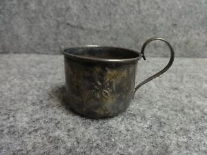 Vintage Sterling Silver Baby Cup Marked