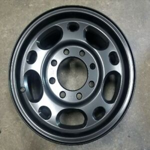 Chevrolet Silverado 2500 Matte Black 16 Oem Wheel Set 1999 2010 12368959 9592