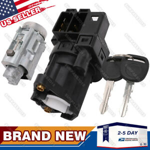 New Replacement Ignition Lock Cylinder With Keys And Ignition Switch For Gm