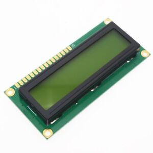 Lcd1602 Hd44780 Character Lcd Display Yellow Blacklight Tft 16x2 Lcd Module 5v
