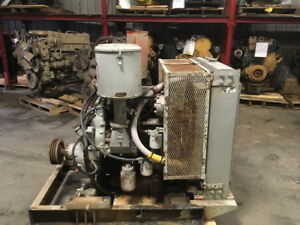 Detroit Diesel 3 53 Power Unit W hand Clutch tested Running Complete