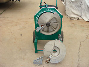 Greenlee 555 Conduit Pipe Bender 1 2 To 2 Rigid Shoes xcond Nr
