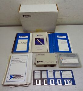 National Instruments Gpib enet Ethernet Gpib Iee 488 Controller P n 181945 01