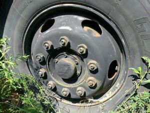 1986 Hino Fe 10 Lug 22 5 X 7 50 Lug Piloted Steel Wheel