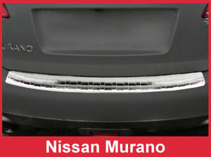 Stainless Steel Rear Bumper Protector Guard For 2009 2014 Nissan Murano