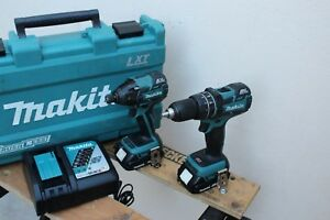 Makita Combo 18v Lxt Lithium ion Brushless