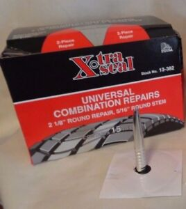 Xtra Seal Universal Combination Tire Plug Patch Repairs 13 382 5