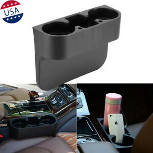 Car Seat Seam Wedge Cup Holder Bottle Drink Phone Mount Stand Storage Organizer
