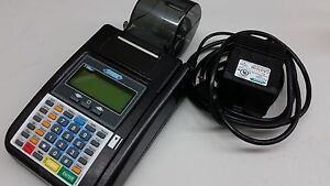 Hypercom T7plus Credit Card Machine Unlocked And Restored To Defaults