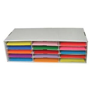 Classroom Keepers Construction Paper Storage Boxes Small
