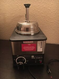 Server Fspw ss Supreme Topping Dispenser Condiment Warmer 81140 Nacho Cheese