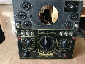 Vintage Dayrad tri test Tube Tester For Parts