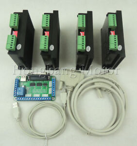 Cnc Router 4 Axis Kit tb6600 3 Axis 4 5a Driver Stepper Motor Controller Kit